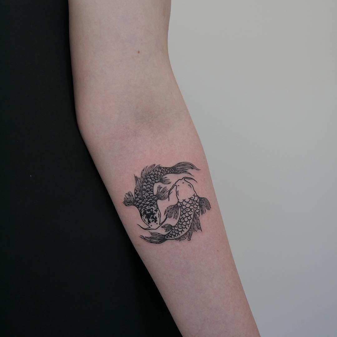 Koi Fish Tattoo Design , 40+ Coy Fish Tattoo Ideas (2019