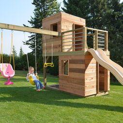 die besten 25 kinderspielhaus modern ideen auf pinterest. Black Bedroom Furniture Sets. Home Design Ideas