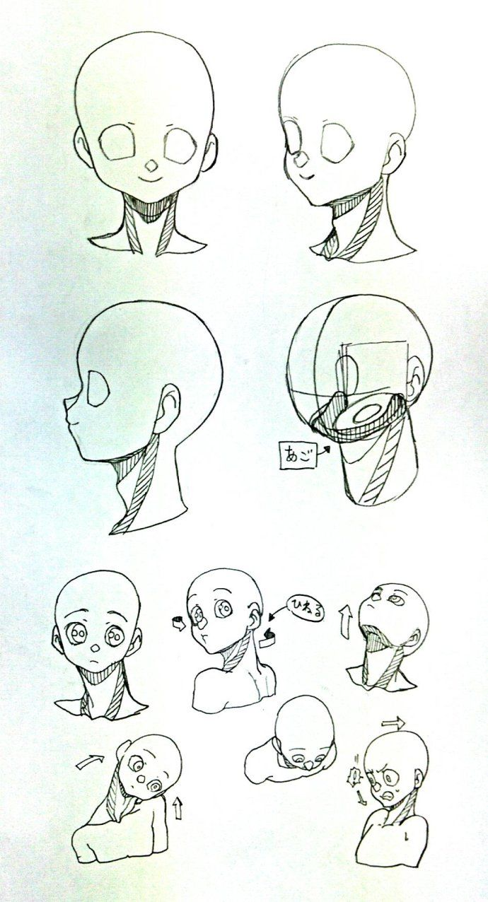 namajake的草稿集 | Body | Pinterest | Face proportions, Anatomy and ...