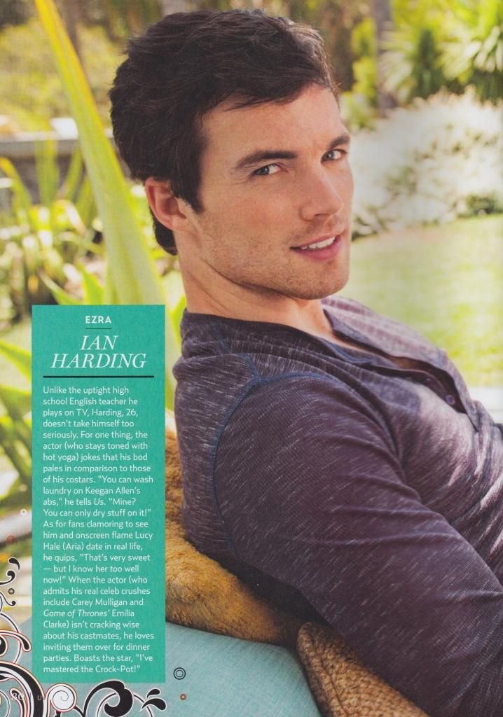 I Have This Magazine Pretty Little Liars Ian Harding