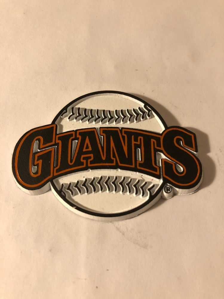 72b69bfb5 VTG San Fransico GIANTS MLB Rubber Baseball Fridge Magnet STOCKING STUFFER