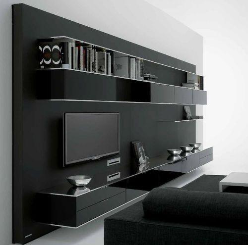 Contemporary Home Style By B B Italia: Contemporary TV Wall Unit ELEVENFIVE By B.Fattorini MDF