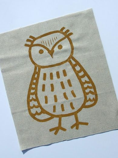 Just Another Hang Up: Painted Owl Pillow | Pillows abound | Pinterest