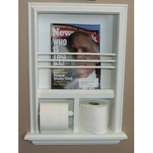 Built In Recessed Bathroom Magazine Rack Recessed Toilet Paper Holder Bathroom Organization Diy Toilet Paper Storage