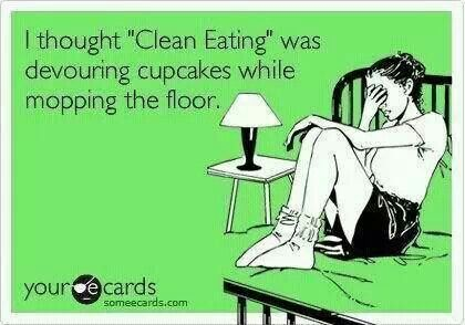 Hell ya! This is my way of clean eating! Lol