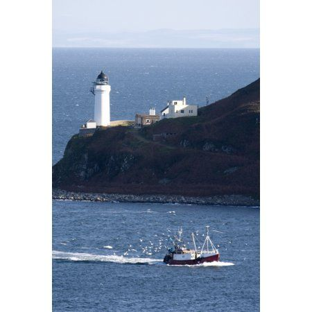 Lighthouse On The Coast Campbeltown Loch Island Of Davaar Argyll And Bute Scotland Canvas Art John Short Design Pics 22 Lighthouse Campbeltown Holiday Home