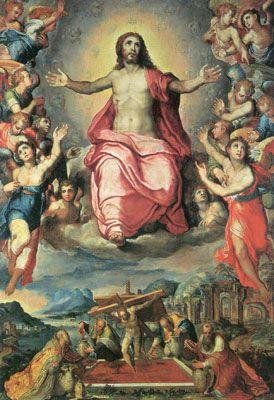 Mystische Kelter und Christus in der Glorie, 1571, Pinacoteca Vaticana, Rome, wikipedia