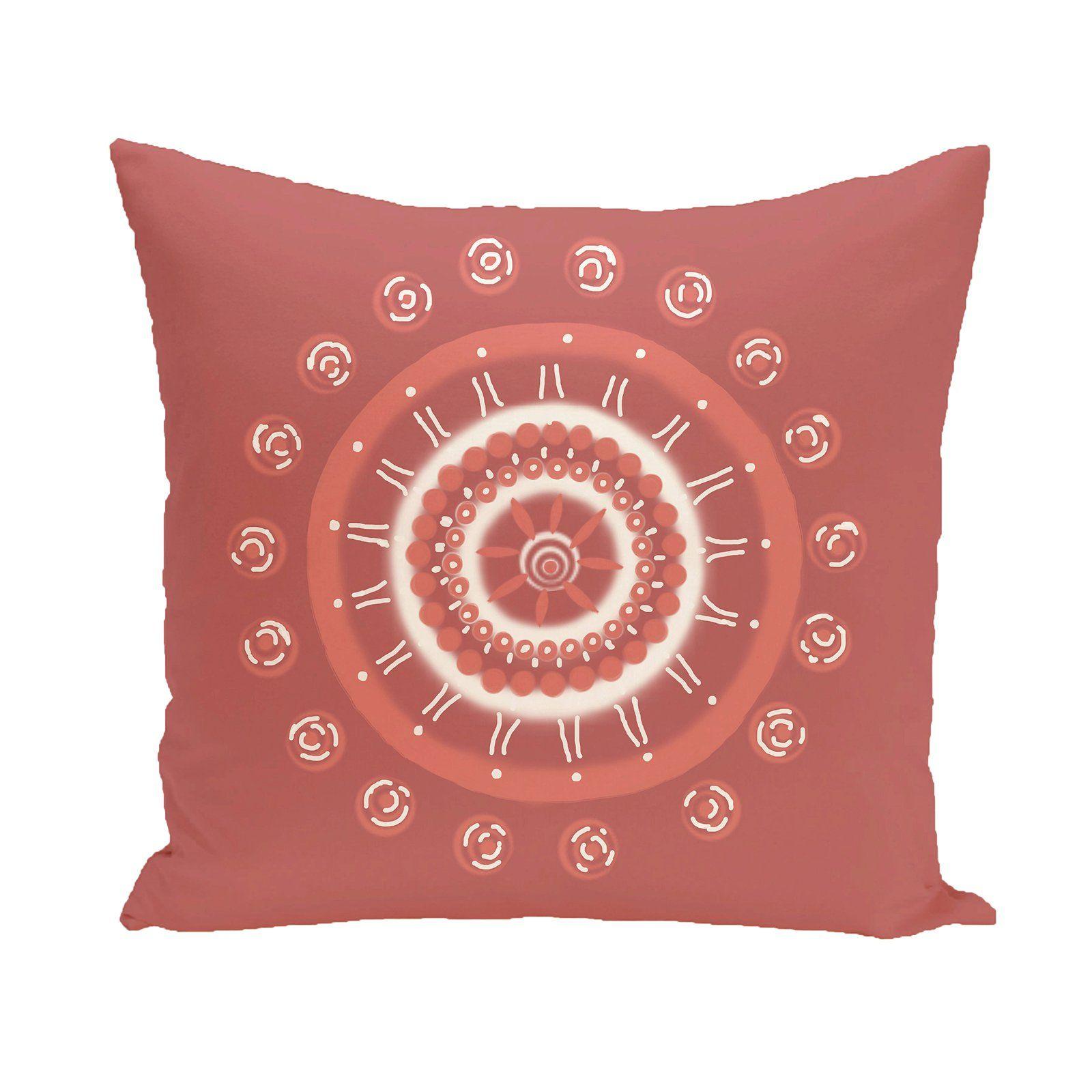 E by design Decorative Pillow Coral