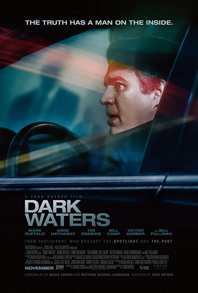 Dark Waters 2019 Trailer Anne Hathaway Mark Ruffalo životopisné Trailery Free Movies Online Movies Online Water Movie