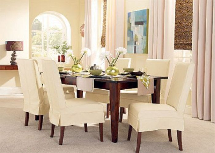 elegant dining chair slipcover on pinterest dining chair