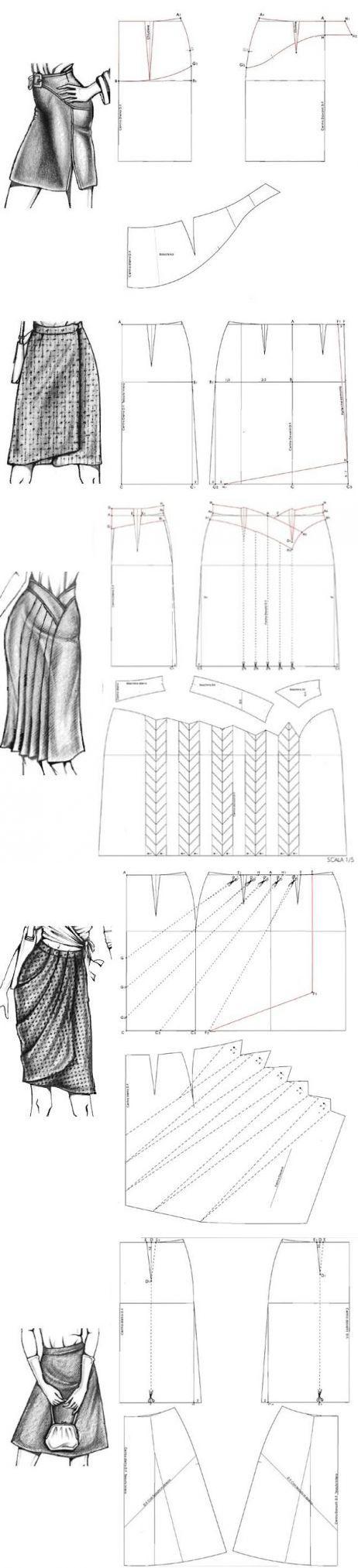 шитье и крой   Patrones, Costura y Falda