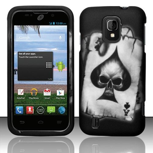 Make your #ZTE #Source #N9511 #Majesty #Z796C phone become more macabre with #Hard #Case #Cover - Spade Skull Texture at @Acetag! Come to us and make your phone stronger! Just $7.99