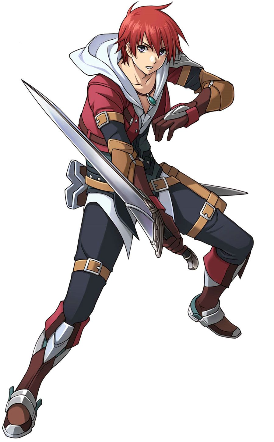 Adol Christin from Ys: Memories of Celceta