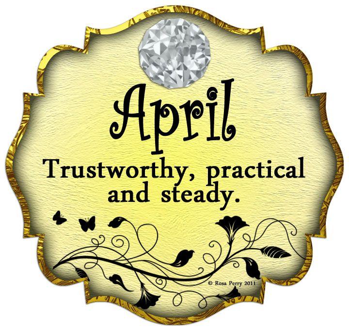 Birth Month April Birthstone Diamond Happy Birthday To All