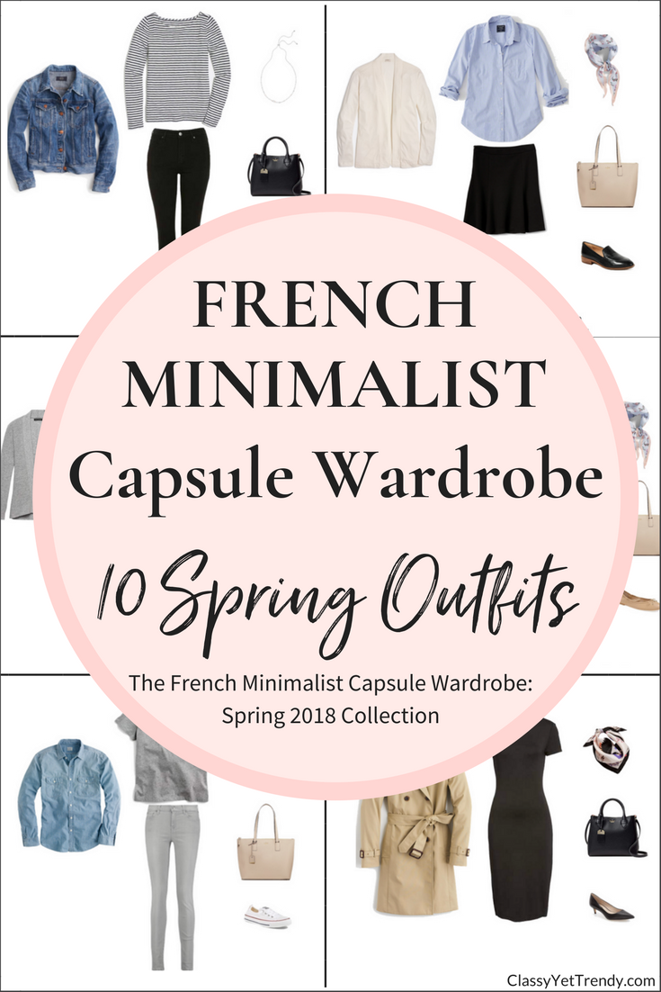 Create A French Minimalist Capsule Wardrobe: 10 Spring