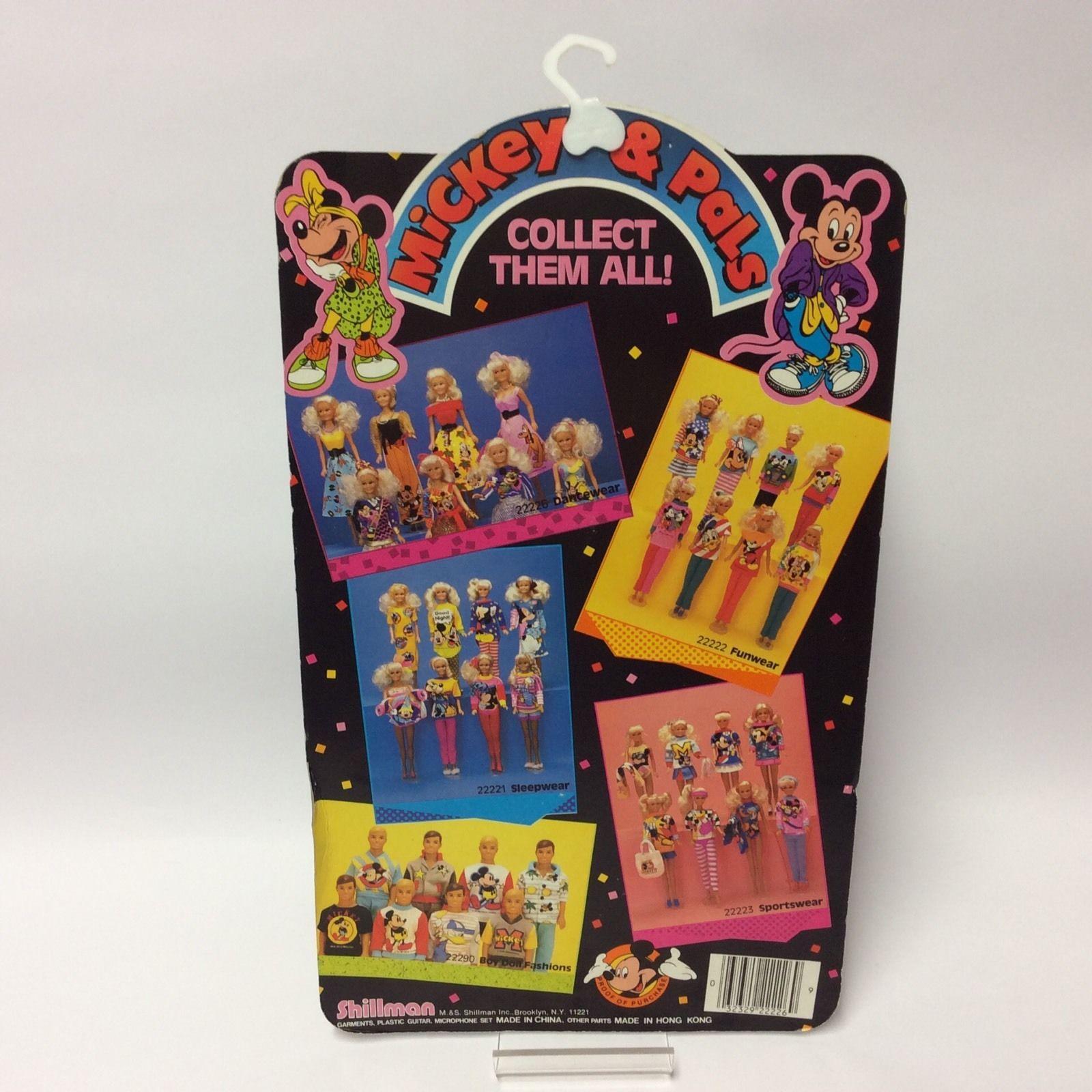 Vintage 1986 Disney Mickey & Pals Shillman Doll Clothes Dancewear Pluto | eBay