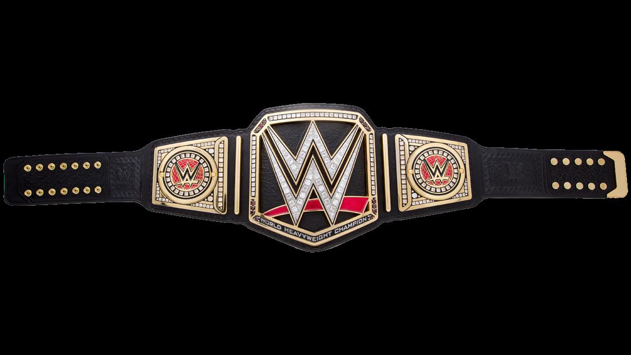 Wwe World Heavyweight Championship Belt Render World Heavyweight Championship Wwe World Wwe