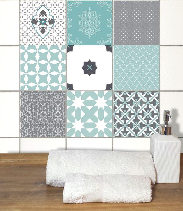 fliesenaufkleber von wandakzente sind mit uv farben bedruckte und stark haus pinterest. Black Bedroom Furniture Sets. Home Design Ideas