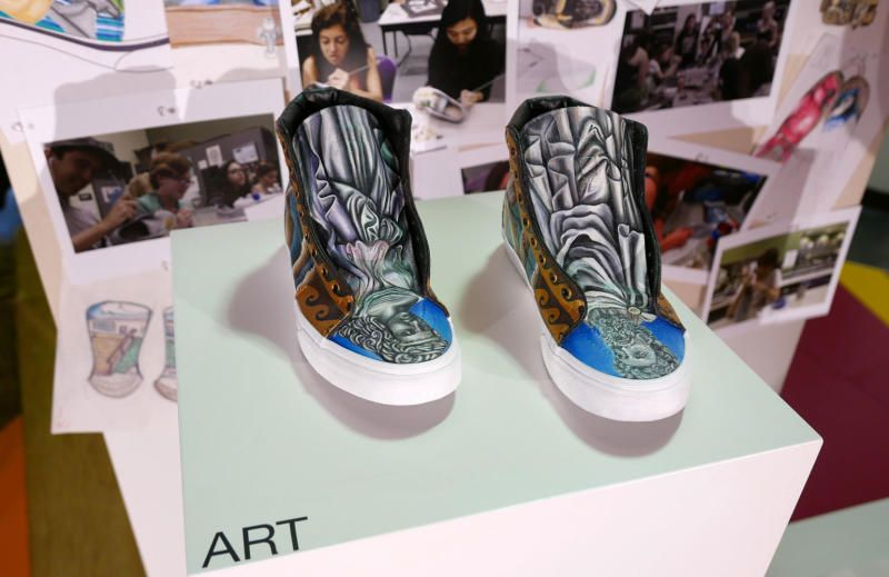Vans Let High School Students Design These Awesome Custom Sneakers ... 9998d57b4c0c