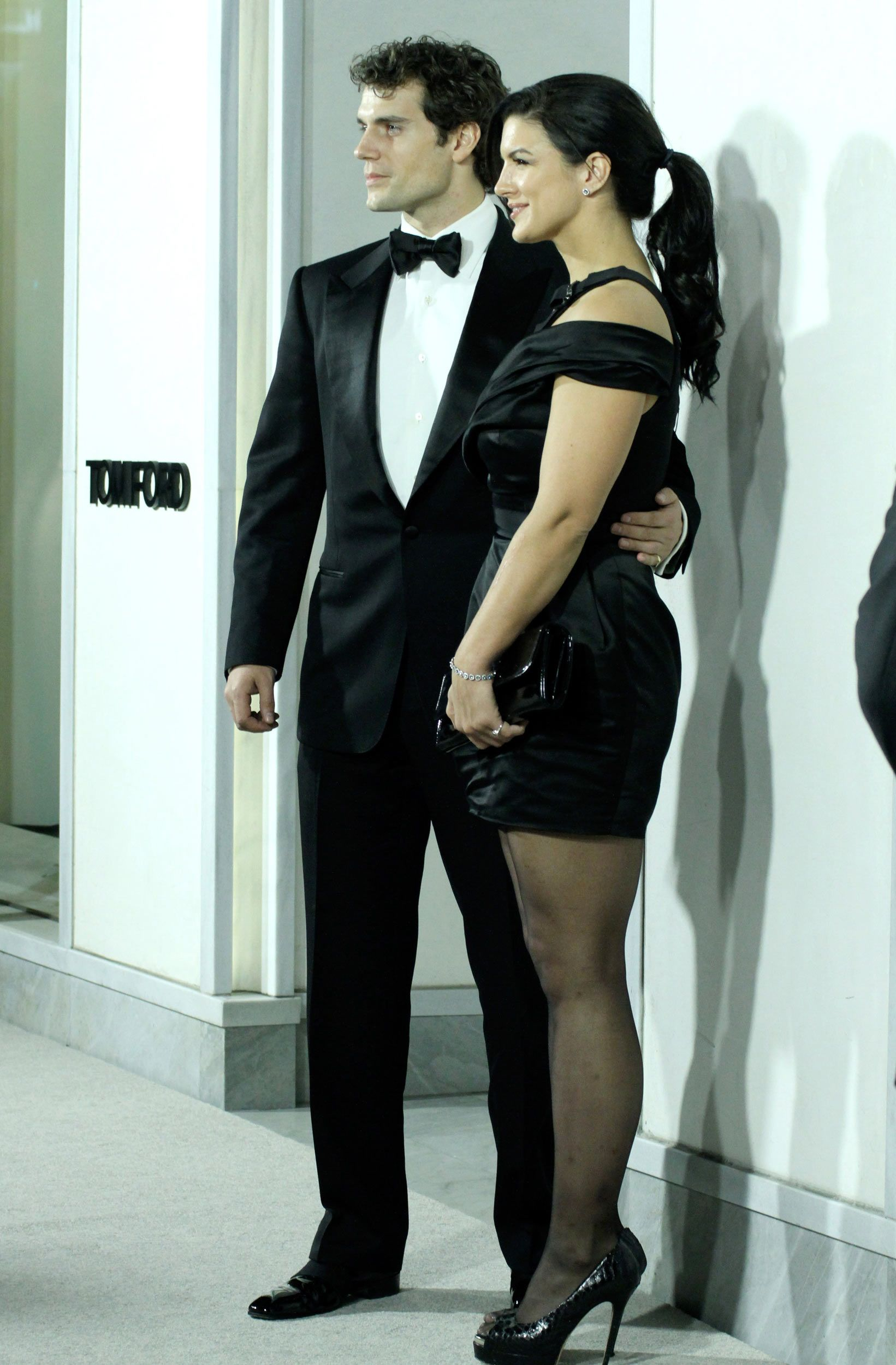 Henry Cavill and Gina Carano at Tom Ford Cocktail Party ...