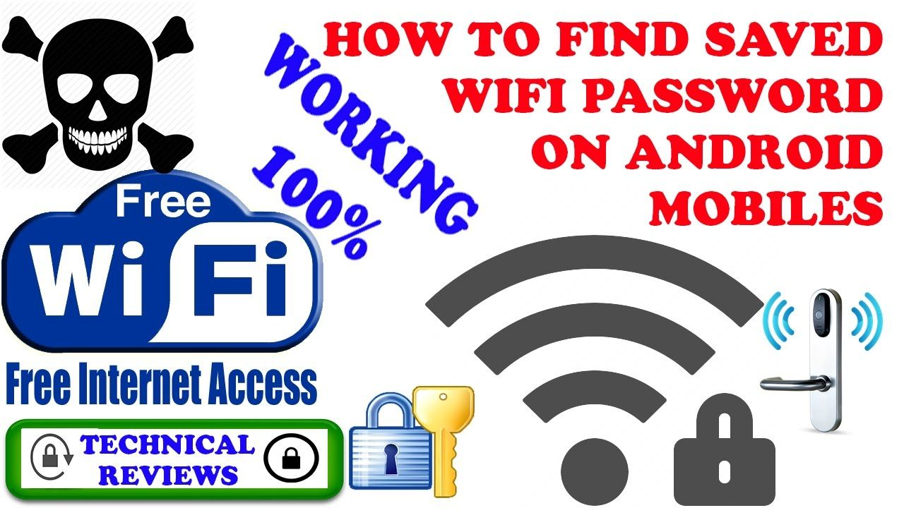 HOW TO FIND SAVED WIFI PASSWORD ON ANDROID MOBILES