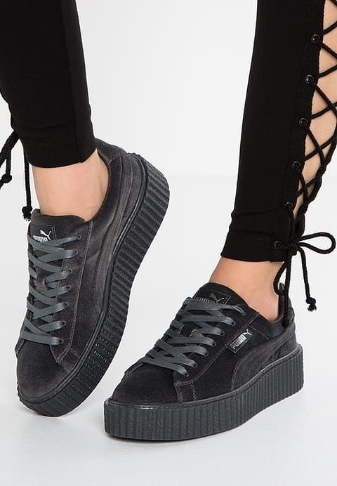 Fenty Sneaker Cement By Creeper Velvet Rihanna Low Puma hdtQsCr