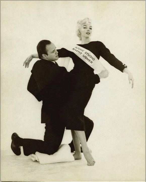 Marilyn Monroe /& Marlon Brando Dancing  Rare poster
