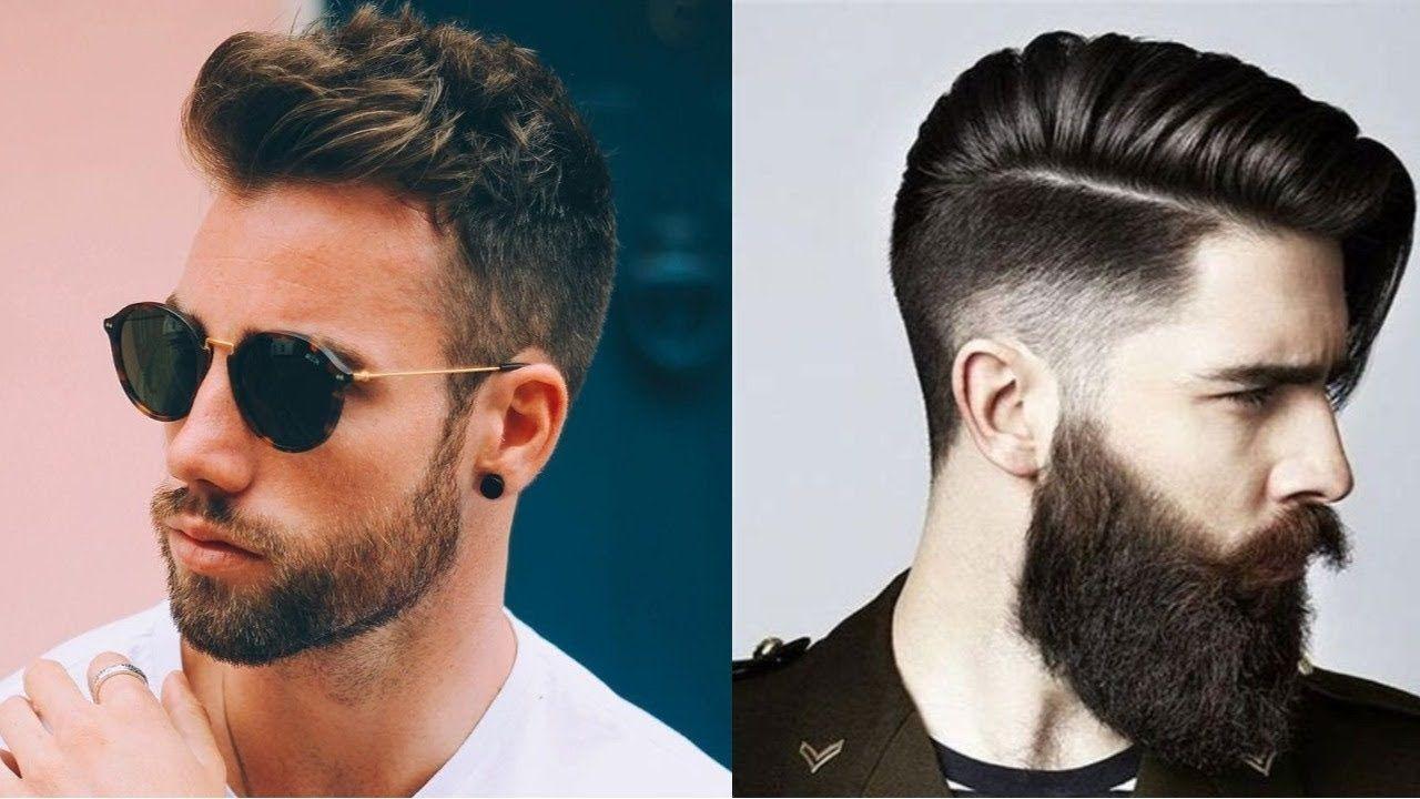 50 Men S New Trendy Hairstyles 2018 Branmakeyou Hairstylesformens Trendy Mens Haircuts Beard Styles Best Beard Styles