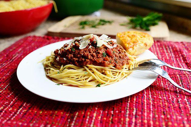 The Pioneer Woman: Spaghetti Sauce