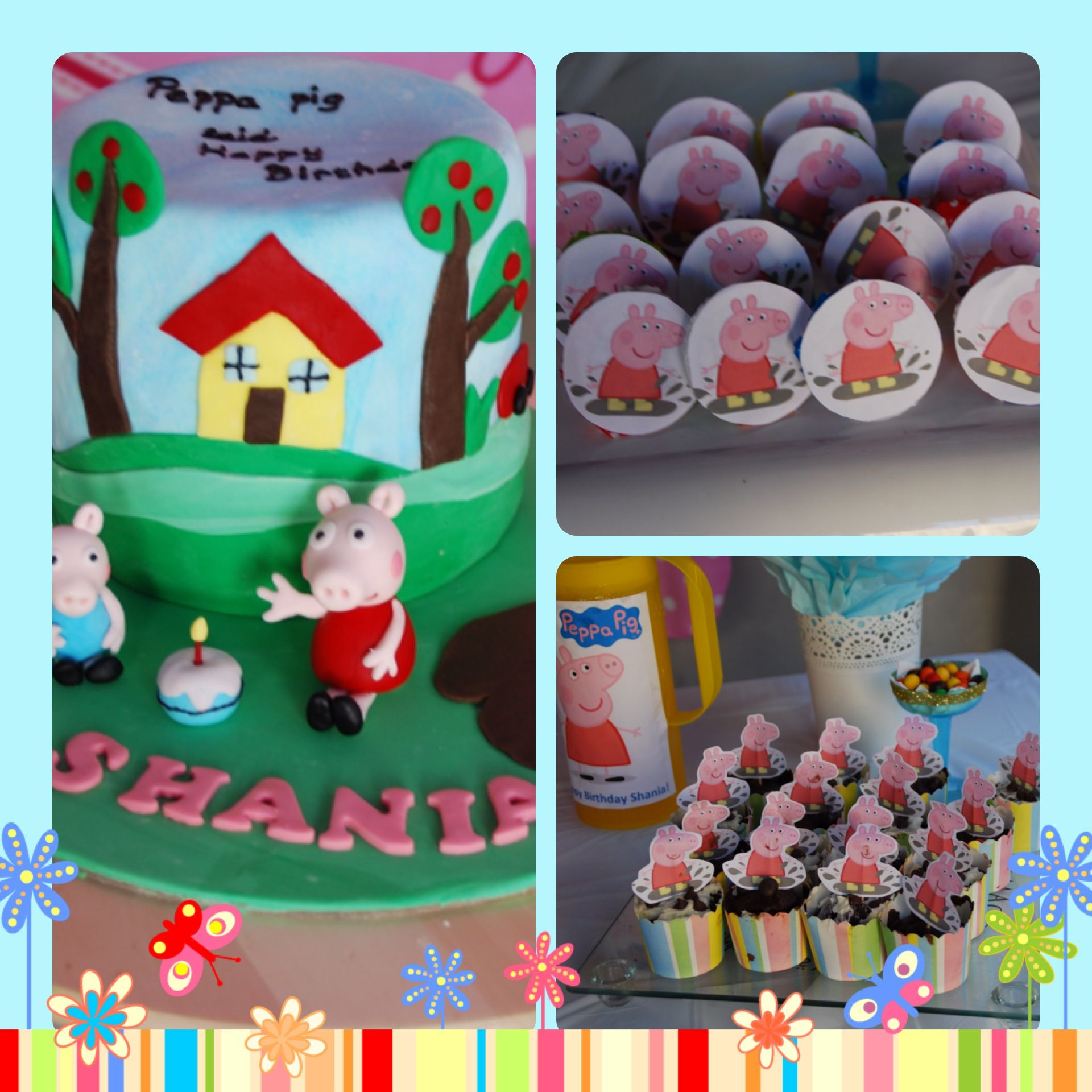 Peppa pig birthday food party pinterest more pig birthday ideas