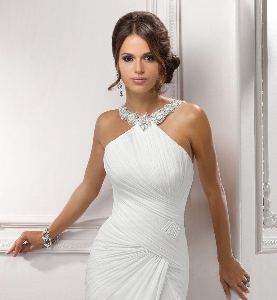 Aliexpress buy 2016 chiffon summer beach wedding dresses aliexpress buy 2016 chiffon summer beach wedding dresses ombrellifo Images