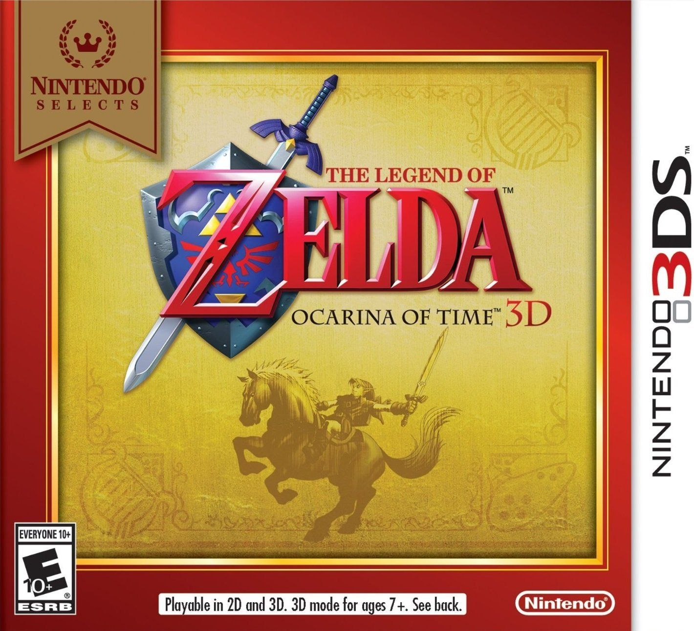 Nintendo Selects The Legend of Zelda Ocarina of Time 3D