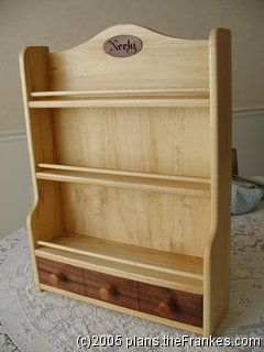 Spice Rack Woodworking Ideas In 2019 Wooden Spice Rack