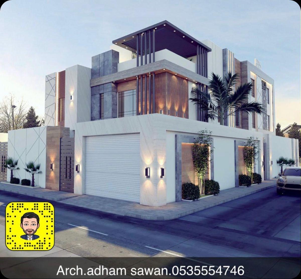 تصميم واجهه في الرياض In 2021 House Styles House Mansions