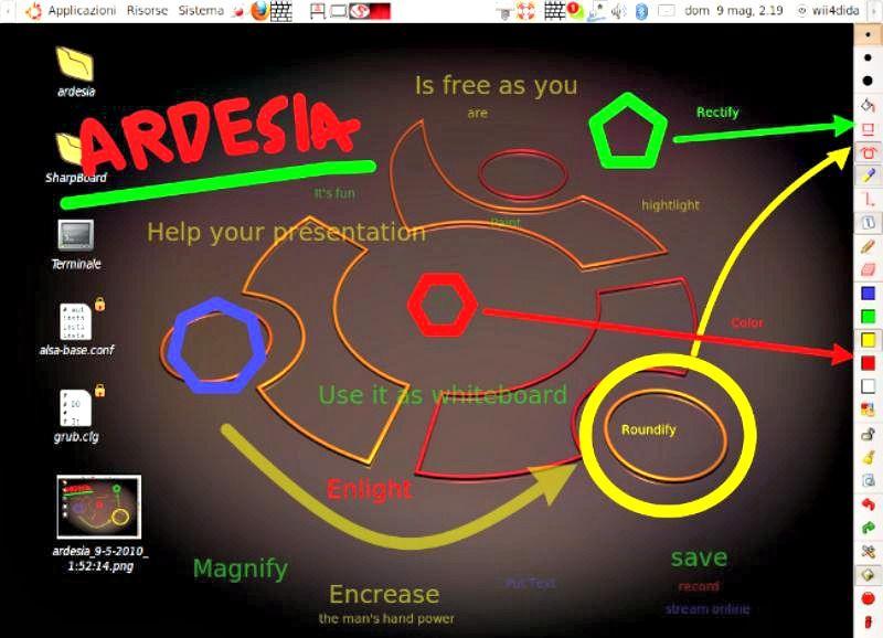Ardesia dibujo digital sobre tu escritorio y aplicaciones - Escritorio para escribir ...