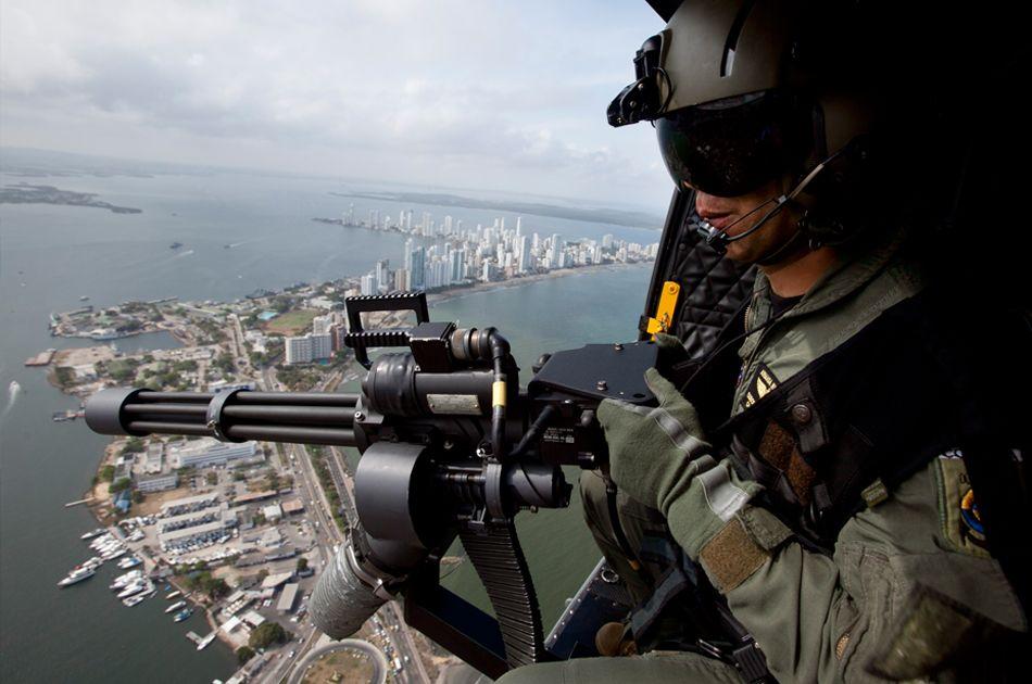 Un espectacular operativo de seguridad que Cartagena nunca olvidará.