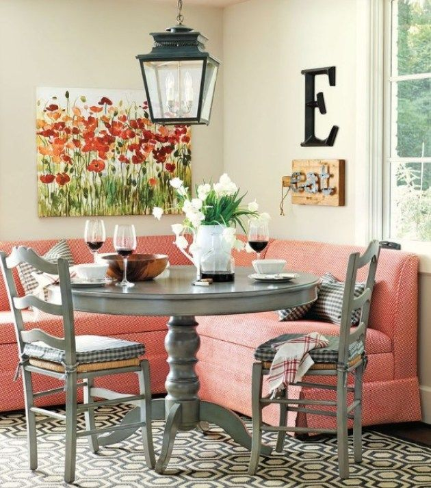 32 Stylish Dining Room Ideas To Impress Your Dinner Guests: 25 Exquisite Corner Breakfast Nook Ideas In Various Styles