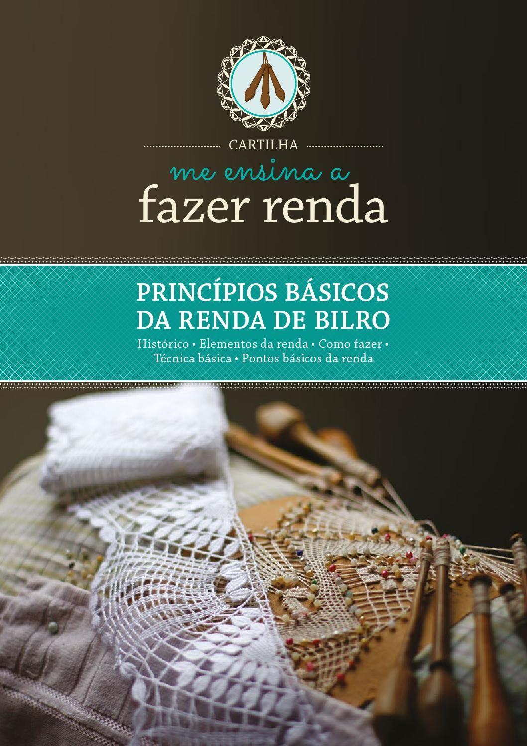 A cartilha ensina de forma didática o passo a passo da renda de bilro tradicional de Florianópolis. são textos claros e objetivos que demonstram de forma simples a técnica e os pontos básicos do rendado.
