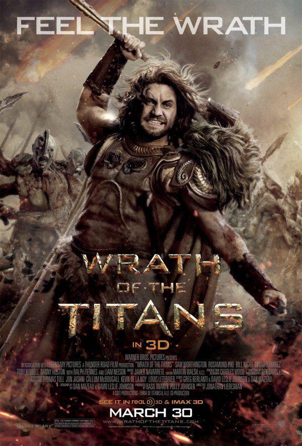 wrath of the titans movie poster x men pinterest movie