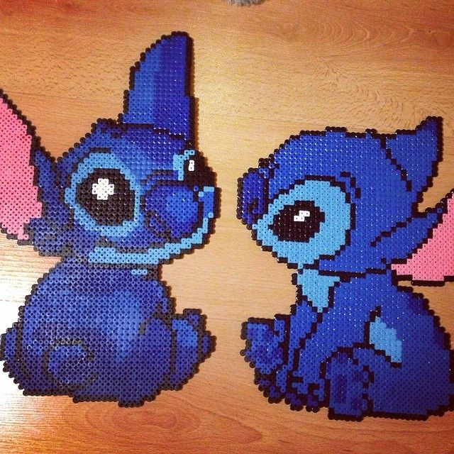 Lilo disney art hama beads by janzux perler pinterest for Lilo and stitch arts and crafts