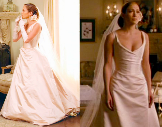 I love this dress, always wanted one like this. JLO in wedding ...