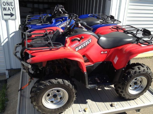 2008 yamaha grizzly 700 fi auto 4x4 4 wheeler blue 427 miles for sale in eagan mn up north. Black Bedroom Furniture Sets. Home Design Ideas
