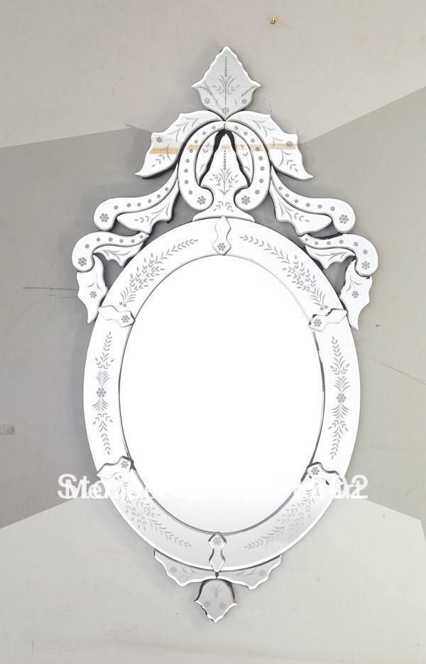 Fancy Ideas Small Wall Mirrors Mr 201357 Oval Venetian Mirror For