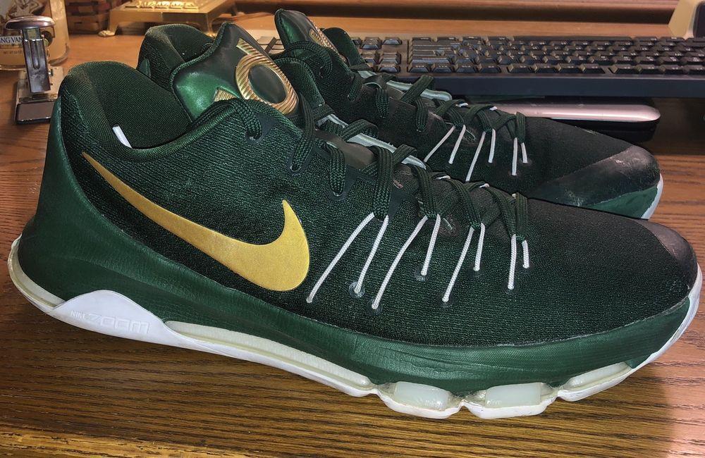sports shoes bd909 c248e Nike Kd 8 VIII Michigan St PE Sample Promo Size 14. RARE. Kobe Jordan