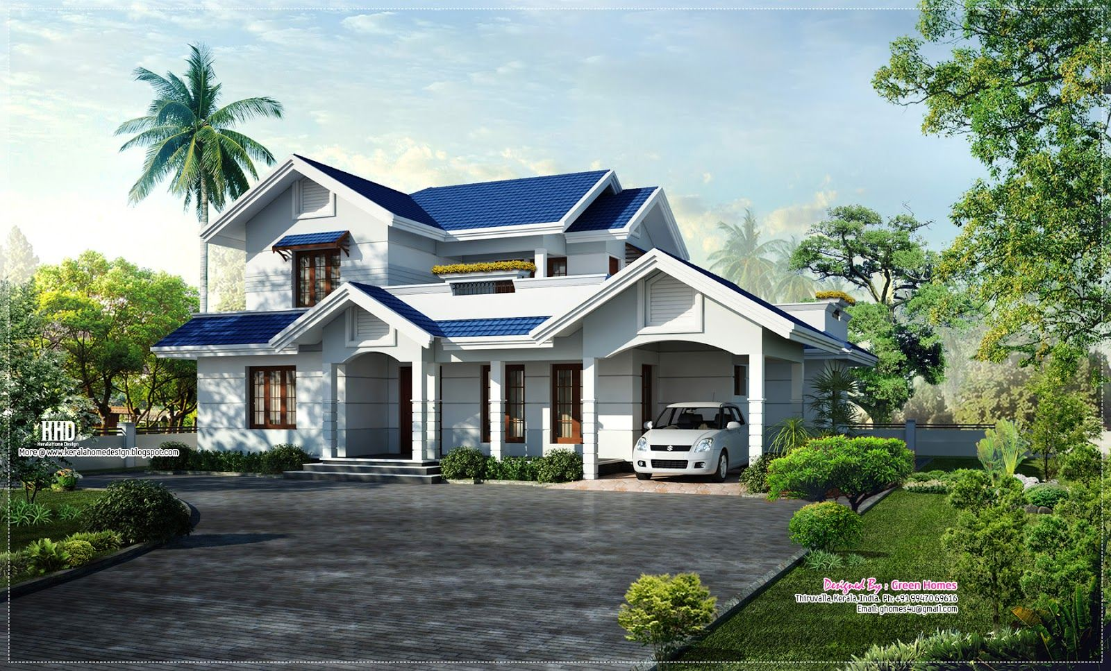 House Roof Kerala House Design Beautiful Roofs House Design Pictures