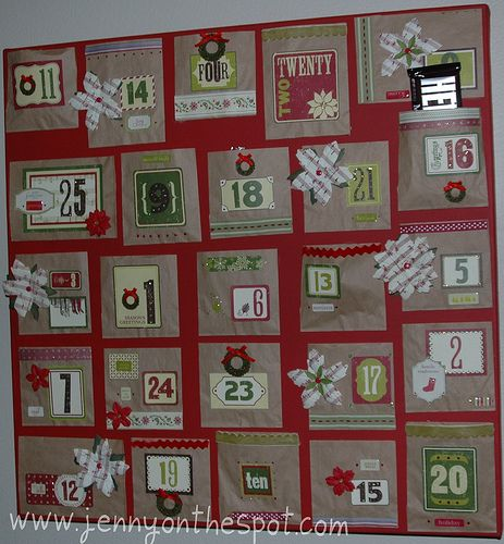 Do it yourself advent calendar holiday christmas pinterest do it yourself advent calendar solutioingenieria Image collections