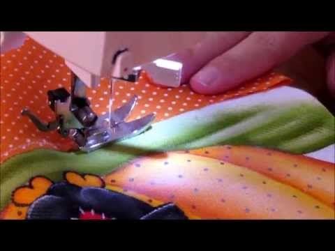 Pintura em tecido - A Galinha Fifi esta pronta!!!! parte 3 final - YouTube