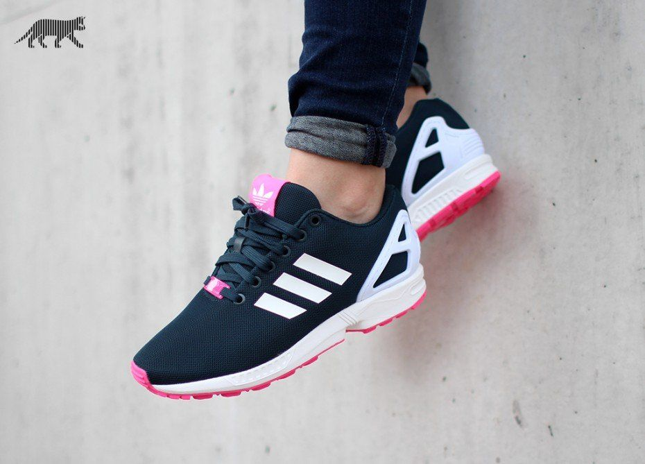 adidas zx flux damen schwarz rosa
