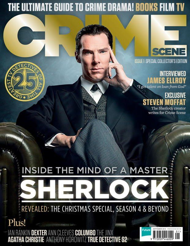 3d07c64702d Brand new crime magazine bags exclusive Sherlock stuff