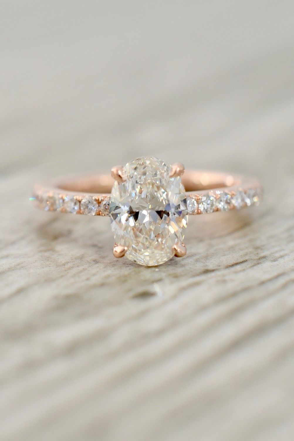 3db829523 Style 3891 features an 8.5x6mm oval brilliant in a true French pavé-set  engagement